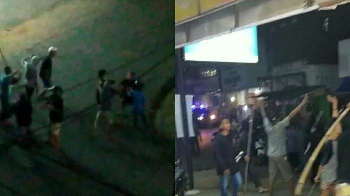 Polisi Amankan Barang Bukti Senjata Tajam Dari Lokasi Penyerangan di Pedan Klaten