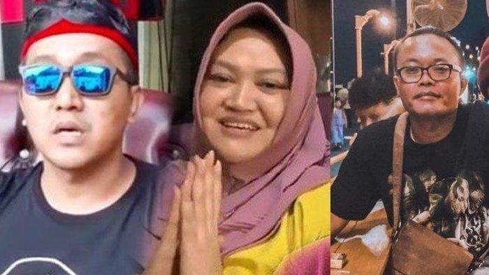 Teddy Pardiyana, suami almarhumah Lina Jubaedah (42) dan Sule