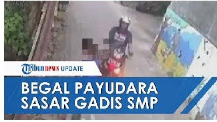Beredar Video CCTV Teror Begal Payudara di Semarang Sasar Anak SMP, Terungkap Ciri-ciri Pelakunya