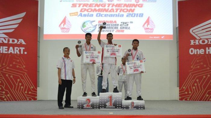 Tiga Pelajar Siap Wakili Jawa Tengah di The 9th Astra Honda Skill Contest for Vocational School 2018
