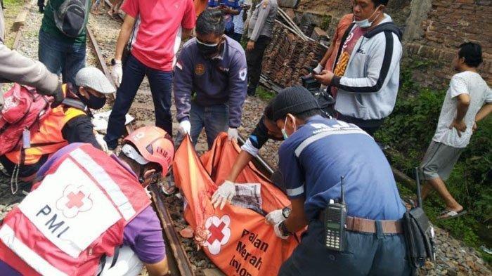 Linglung Saat Berjalan, Seorang Wanita Tewas Mengenaskan Tertabrak Kereta Api BBM di Kota Malang