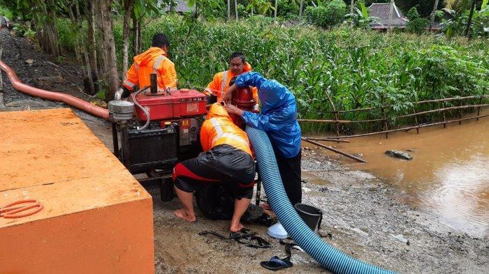 Dua Desa di Wonogiri Masih Terendam Banjir Setinggi 1 Meter, BPBD Kerahkan 3 Pompa Penyedot Air