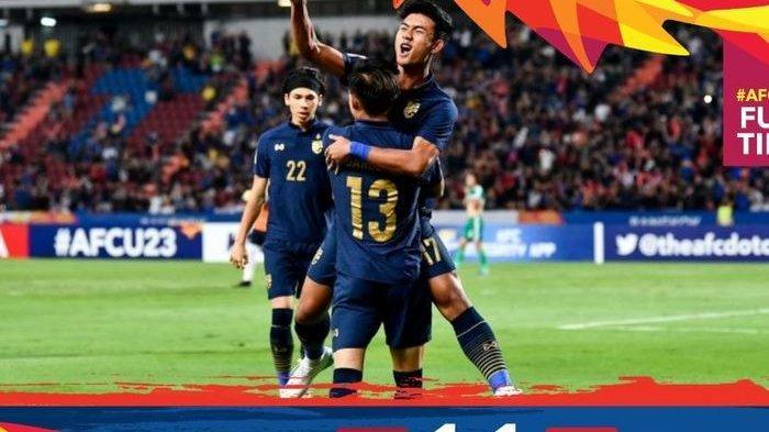 Hasil Pertandingan Piala Asia U-23 2020: Thailand Bakal Lawan Arab Saudi, Vietnam Gugur