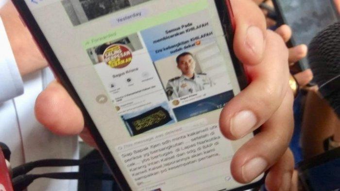 Tulis 'Era Kebangkitan Khilafah' di Facebook Seorang PNS Kemenkumham Diberhentikan