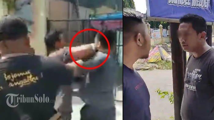 Videonya Viral, Pria Mengaku TNI Pukuli Orang di Gentan, Lalu Panik Minta Maaf karena Kalah Pangkat