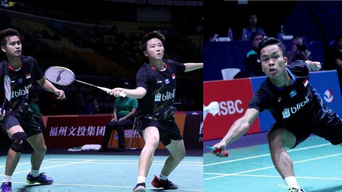 Update Fuzhou China Open 2018: Anthony Ginting dan Owi/Butet Melaju ke Perempat Final
