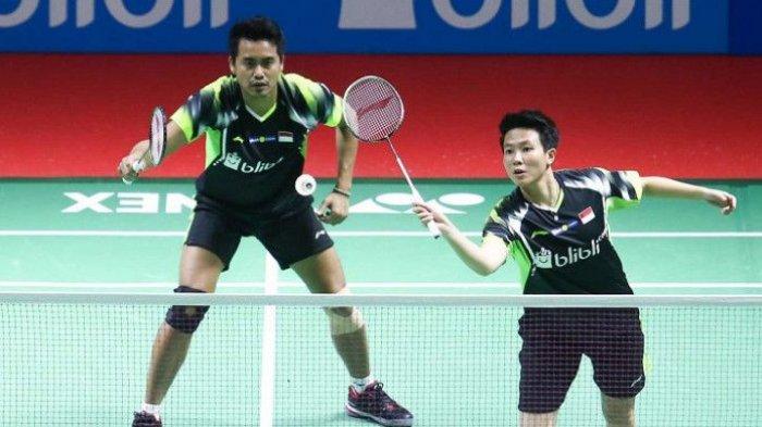 Tontowi Ahmad/Liliyana Natsir Main pada Hari Pertama Indonesia Masters 2019