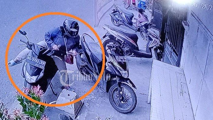 Tak Bisa Lari, Berbekal Plat Nomor Motor, Polisi Kejar Maling HP yang Viral di Pasar Kliwon Solo