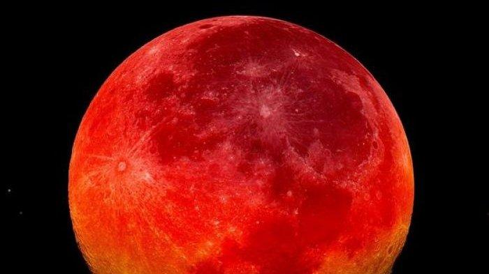 Gerhana Bulan Total Terlihat jelas Hari ini, Berikut Keistimewaan Yang Disampaikan Peneliti Dari ITB