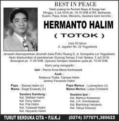 Rest in Peace - Hermanto Halim (Totok)