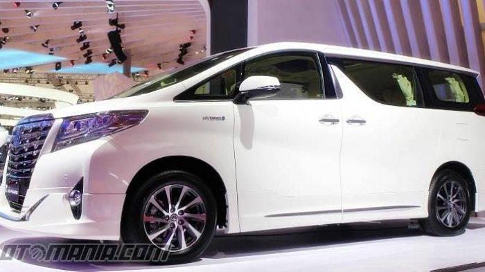 Ilustrasi Toyota Alpahard