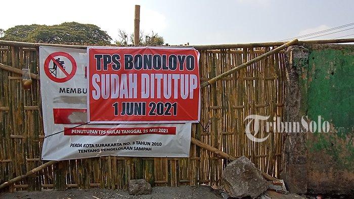 TPS Bonoloyo Solo Ditutup, Warga Kini Sumringah, Tak Lagi Cium Bau Sampah Sejauh 1 Kilometer