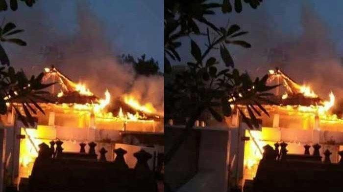 Warga Bakar Sampah, Cungkup TPU Bonoloyo Solo Ludes Dilalap Api