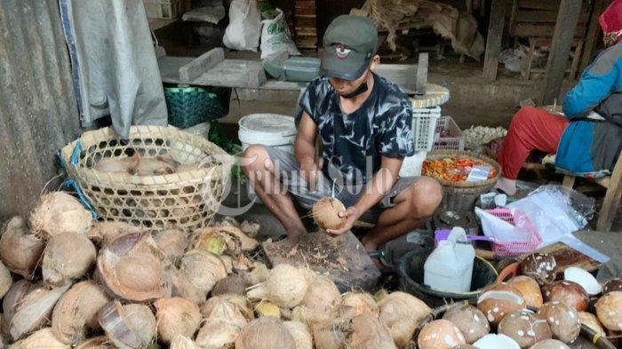 Berkah Lebaran 2021, Tukang Parut di Boyolali Ketiban Durian Runtuh, Ratusan Kelapa Diborong