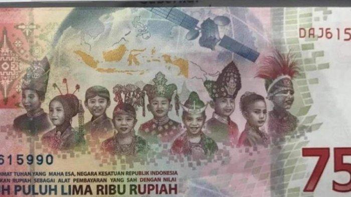 Tak Hanya WNI, WNA Boleh Miliki Uang Rp 75 Ribu Edisi Kemerdekaan? Ini Kata Bank Indonesia