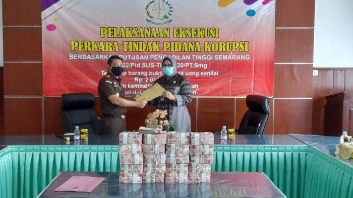 Kasus Korupsi Ruang Operasi RSUD dr Soehadi Sragen : Uang Rp 2 Miliar Dikembalikan ke Kas Daerah