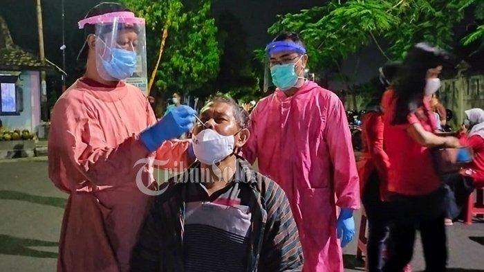 Night Market Sukowati Dipadati Warga, Ditemukan Banyak Tak Pakai Masker, Langsung Gelar Swab Acak