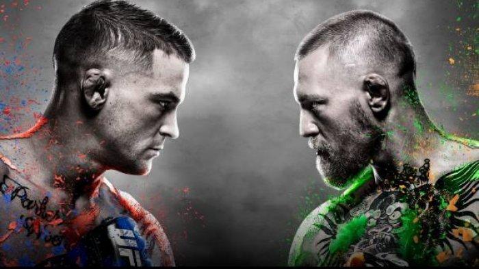 LINK LIVE STREAMING Dustin Poirier Vs Conor McGregor dan Jadwal Siaran Langsung UFC 257 Pagi Ini