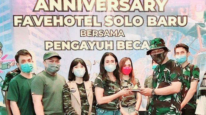 Ungkapan Syukur Favehotel Solo Baru, Pihak Hotel Ajak Pengayuh Becak Menginap di Hotel