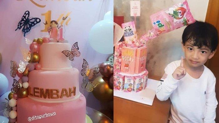 Adik Perempuan Jan Ethes Genap Satu Tahun, Intip Potret Perayaan Ulang Tahun Pertama La Lembah Manah