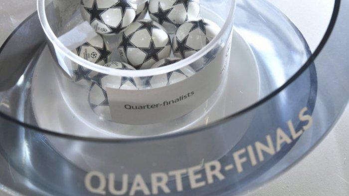 Dua Tim Inggris Bakal Bentrok, Ini Hasil Undian 8 Besar Liga Champions