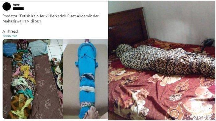 Polisi Tangkap Terduga Pelaku Fetish Kain Jarik di Kapuas dan Menyita Sejumlah Barang Pribadi
