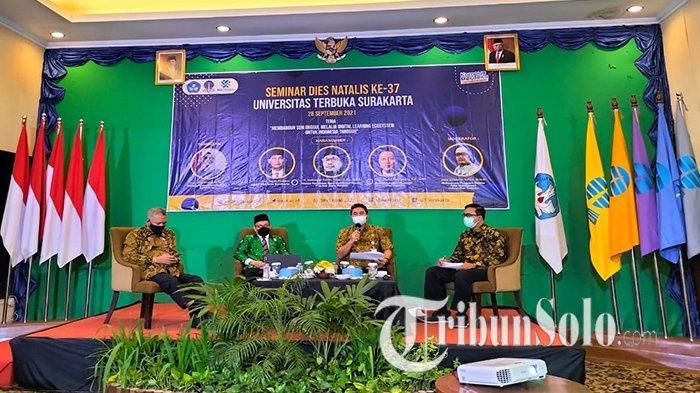 Dies Natalis Ke-37, Universitas Terbuka Surakarta Dipuji Pemkot, Jadi Pionir Pembelajaran via Daring