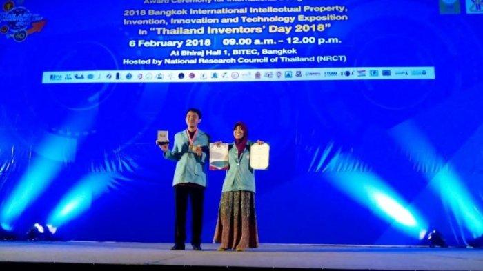 Ciptakan Alat Pendeteksi Beras Berpemutih, Mahasiswa UNS Solo Raih Penghargaan Internasional