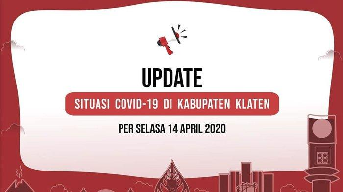 Update Corona Klaten 14 April 2020 : ODP Bertambah 32 Orang, 7 PDP Tunggu Hasil Lab