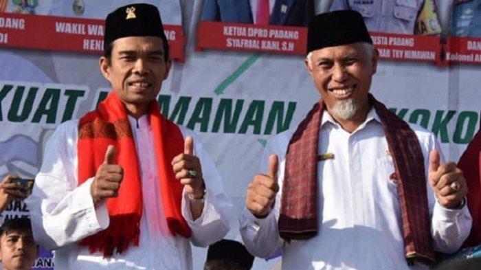 Setujui Usulan Ustaz Abdul Somad, Wali Kota Padang Perintahkan Bentuk Satpol PP Syariah