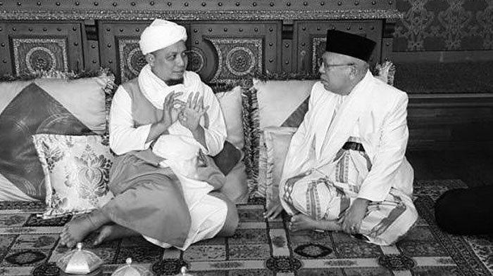 Turut Sampaikan Belasungkawa, Ma'ruf Amin Kenang Kebersamaan dengan Ustaz Arifin Ilham