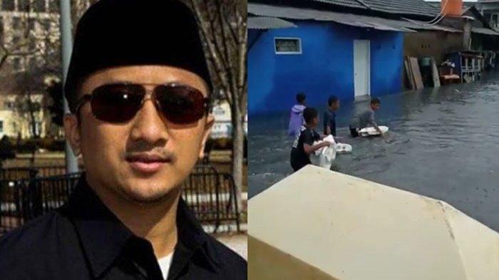 Kampungnya Tergenang Banjir, Ustaz Yusuf Mansur Ogah Salahkan Siapapun dan Ajak Semua Berdoa