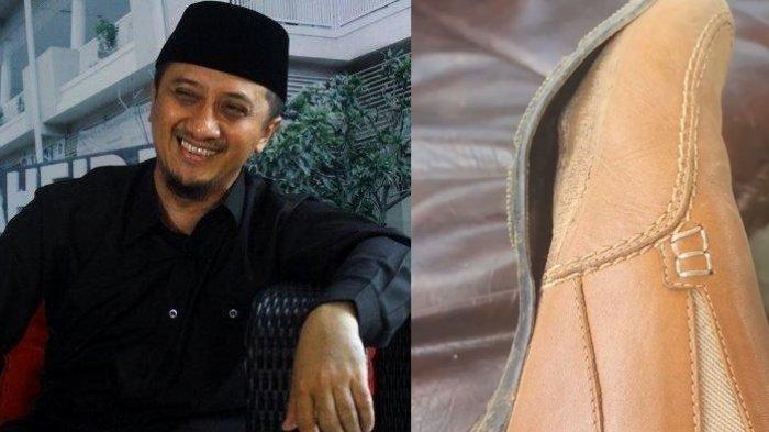 Sukses Ceramah & Bisnis, Ustaz Yusuf Mansur Masih Pakai Sepatu yang Hampir Jebol, Begini Pesannya