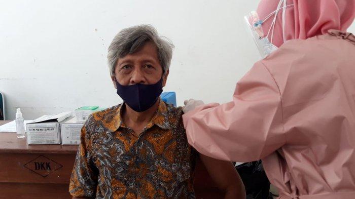 Penantian Panjang Terbayar, Ratusan Pedagang Pasar di Boyolali Disuntik Vaksin Covid-19
