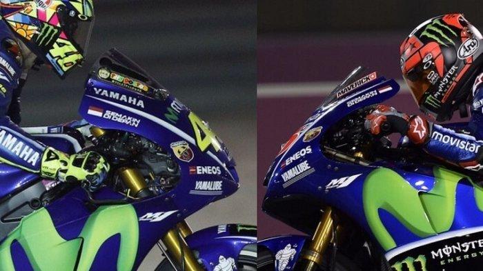 Motor Yamaha Lebih Kompetitif, Rossi dan Vinales Diprediksi Tampil Impresif pada Musim 2018
