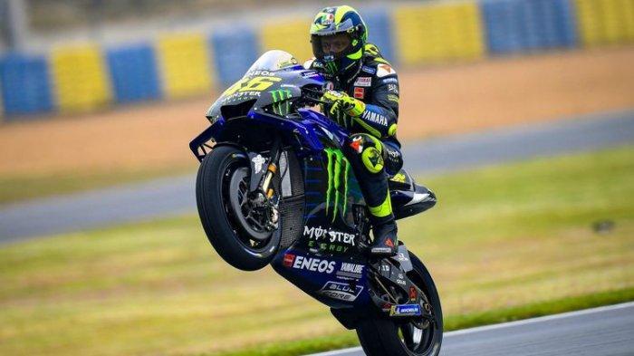 Jelang MotoGP Ceko, Valentino Rossi Yakin Bisa Salip ke Posisi Depan