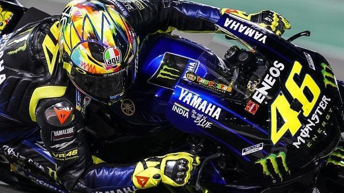 Penjelasan Valentino Rossi Pilih Lanjutkan Balapan Usai Terjatuh pada MotoGP Emilia Romagna