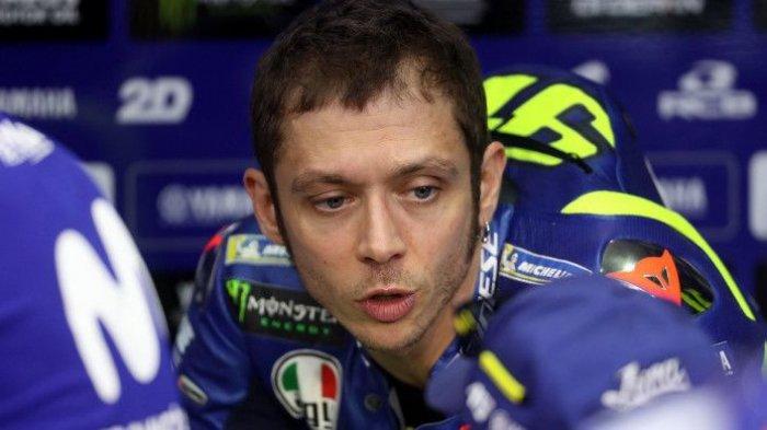 Performa Tak Kunjung Membaik, Valentino Rossi Frustasi, Bakal Pensiun Balapan Lebih Cepat