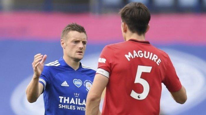 Big Match Leicester City VS Manchaster United, Laga Amankan Peringkat 2 Premier League