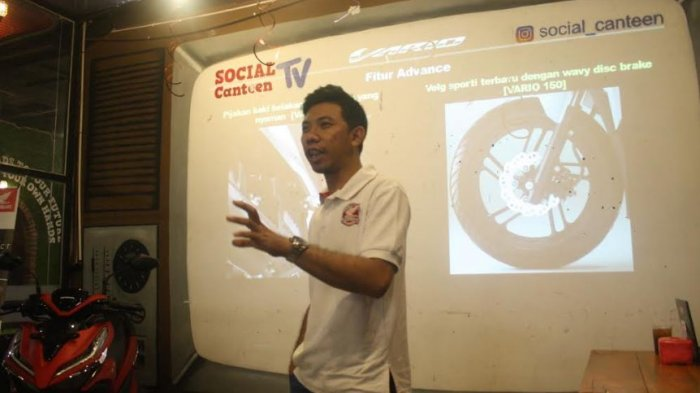 Vario Goes to Campus Kenalkan Teknologi Terbaru Motor Honda