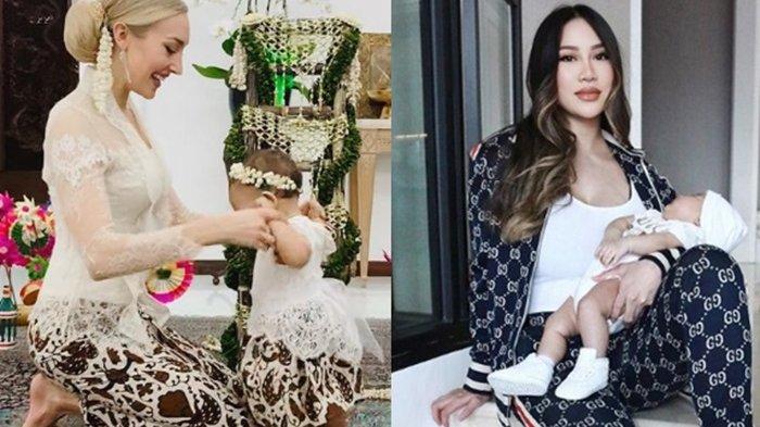 Varsha Strauss dan Kezia Toemion Sama-sama Dikaruniai Anak Perempuan, Rayakan Tahun Baru Terpisah