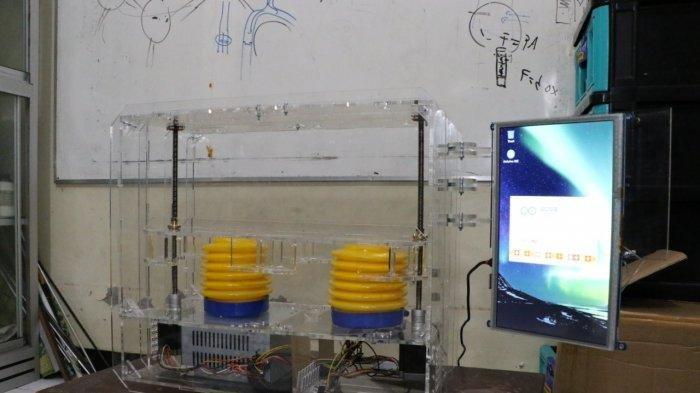 Ventilator Buatan Mahasiswa UNS Solo, Bisa Bantu Pernapasan Pasien Corona