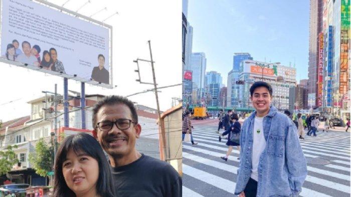 2 Tahun Tak Pulang, Jerome Polin Kirim Pesan Rindu dan Permintaan Maaf ke Orang Tua Lewat Billboard