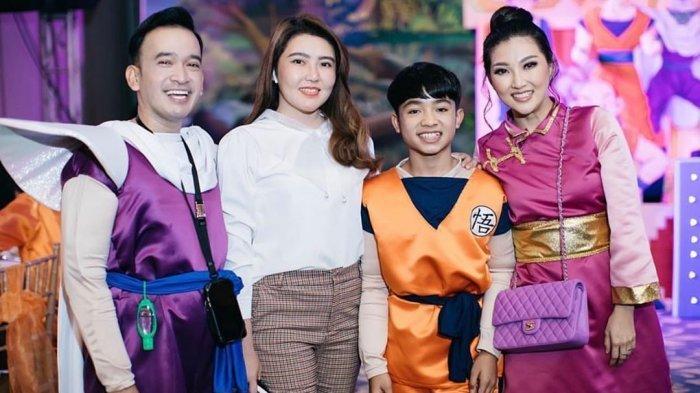 Via Vallen Hadir di Pesta Ulang Tahun Betrand Peto Putra Onsu ke-15, Intip Penampilannya