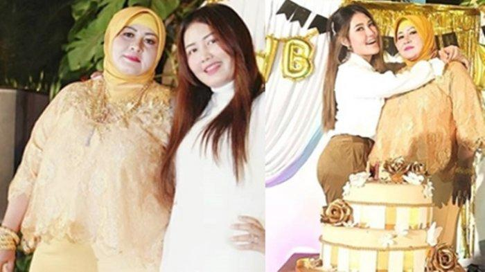 Ibu Via Vallen Menangis Bahagia Dapat Kejutan Kue Tart Berisi Uang Jutaan Rupiah dari Anaknya