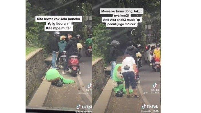 Viral Badut Tiduran di Pinggir Jalan Daerah Bandung, Terungkap Kisah Pilu di Baliknya