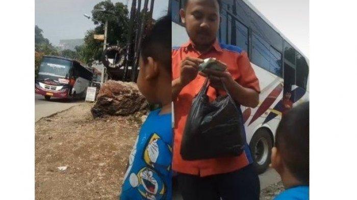 Viral Seorang Anak Menunggu di Pinggir Jalan untuk Bertemu Ayah, Terungkap Kisah Haru di Baliknya
