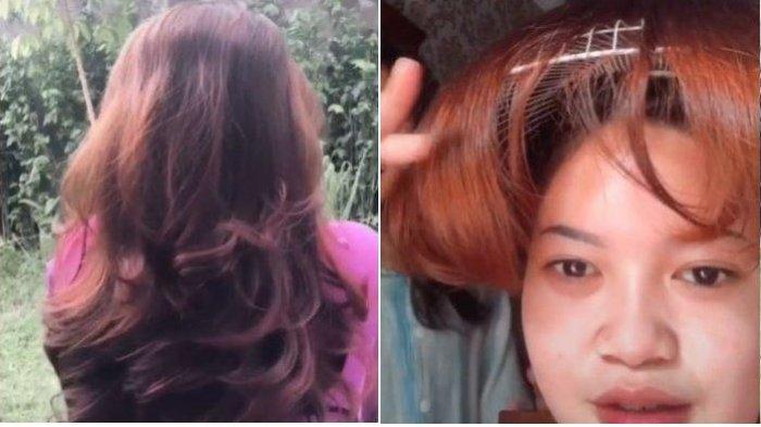 Viral Wanita Potong Rambut Pakai Tutup Kipas Angin, Justru Mengaku Puas dengan Hasilnya