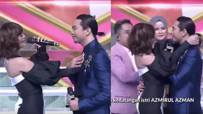 Azmirul Azman Kaget Istri Datang saat Duet Mesra dengan Zaskia Gotik, Netizen Malaysia Beri Komentar