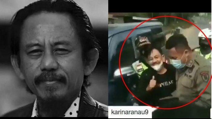 Viral Polisi Cegat Mobil saat Penyekatan, Ternyata Ditumpangi Kang Mus Preman Pensiun, Ini Endingnya